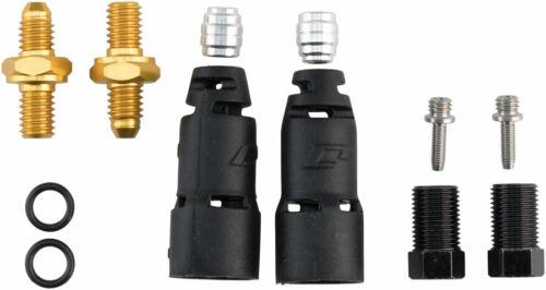 Jagwire Pro Disque De Frein Tuyau Hydraulique Quick-Fit Adaptateurs pour SRAM//Avid