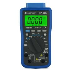 Automotive Multimeter Hp 90k Dmm Acdc Tester Tach Dwell Temp Rpm Test Usb To Pc