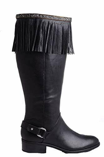 Kamberley Mesh Rhinestone Leather Boot Toppers