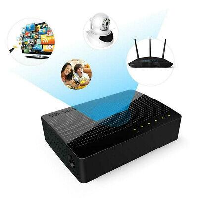 Tenda SG105 Network Gigabit Switch 5 Port 10//100//1000Mbps Fast Ethernet Lan Hub