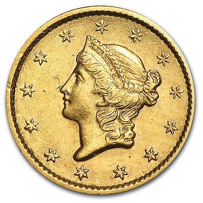 $1 Liberty Head Gold Type 1 XF (Random Year) - SKU #4027