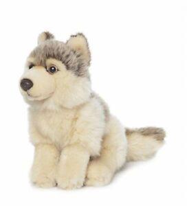 WWF-00548-Wolf-Sitting-Up-15-CM-Stuffed-Toy-Plush