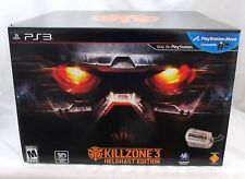 Killzone 3 Collectors Helghast Edition PS3 PlayStation 3 Helmet Sealed Game More