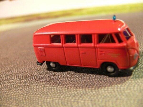 alta calidad 1 87 Brekina   0146 VW t1 t1 t1 a bomberos stuttgart bus de Set  últimos estilos