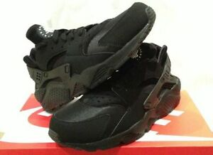 newest cabd4 bd568 Image is loading NIKE-AIR-HUARACHE-LE-2015-034-TRIPLE-BLACK-