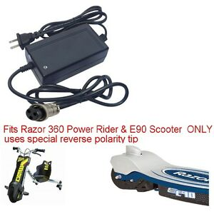 Charger For Razor 360 Power Rider Trike E90 Scooter Amp Jr