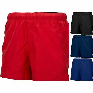 af1948d27f45 Mens Shorts Swim Zip Pockets Surf Summer Swimming Mesh Lined Beach ...