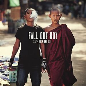 Fall-Out-Boy-Save-Rock-amp-Roll-red-DOUBLE-LP-vinyle-Scelle