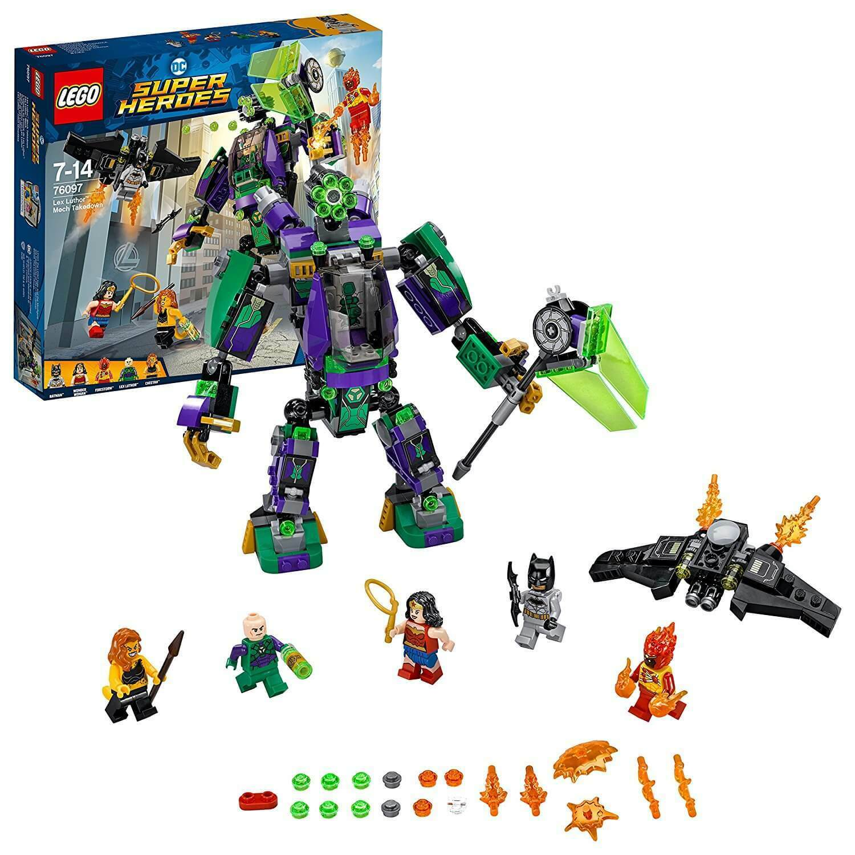LEGO Super Heroes Lex Luthor Mech TAKEDOWN Set