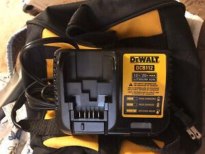 Dewalt DCB112 12V/20V MAX Dewalt Charger-**NEW**  + DeWalt bag