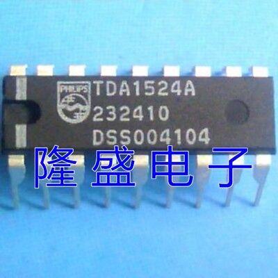 10PCS TDA1524A DIP-18 Stereo-tone volume control circuit NEW GOOD QUALITY D22