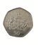 thumbnail 1 - Royal Crest Unicorn and Lion Circulated UK 50P Coin 2013