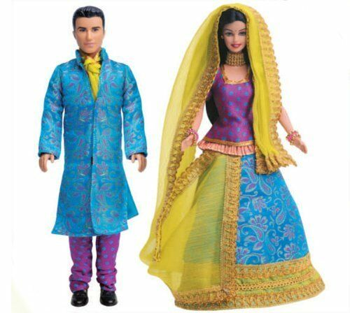 Color May Vary Barbie Barbie and Ken in India