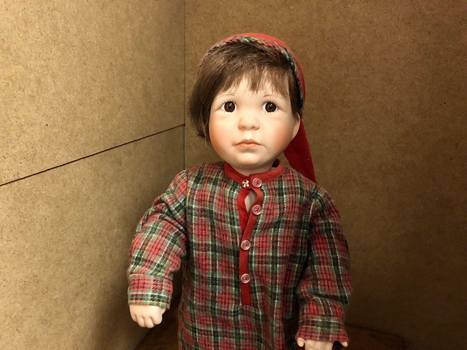 Jeanne Singer Porzellan Puppe 34 cm. Top Zustand Zustand Zustand  | Exquisite (mittlere) Verarbeitung  4dd6ec
