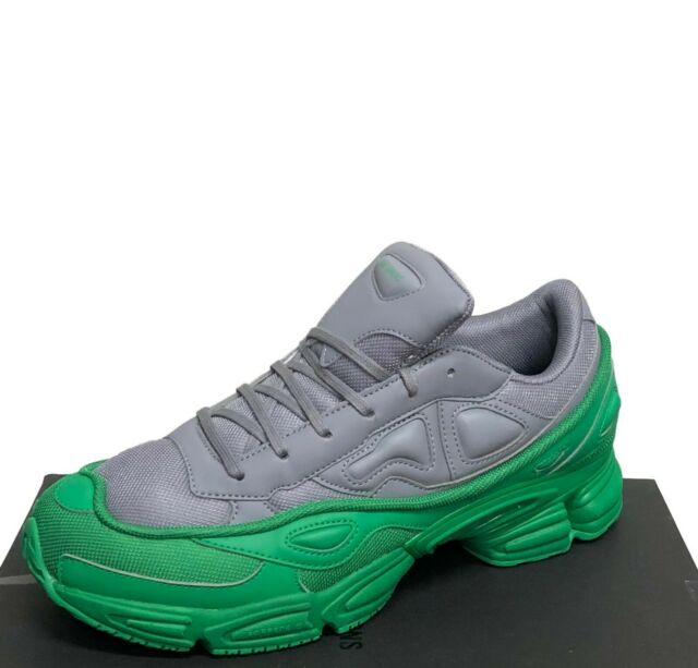 more photos c5934 a699a Adidas X Raf Simons Men's Sneakers Size 12 - Green & Grey Ozweego - New in  Box