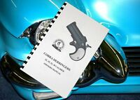Cobra Derringer 22 25 32 38 Pistol Owners Gun Manual
