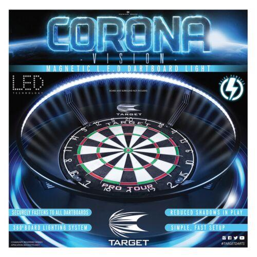 Target Corona Light RED Dartboard Surround Pro Star Dart Board Darts Gift