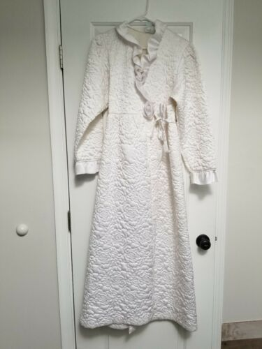 Vintage Gillan O'Malley Quilted Satin Bridal Trous