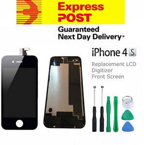 For-iPhone-4S-Replacement-LCD-Digitizer-Front-amp-Back-Screen-Assembly-Tool-Black