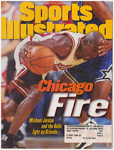 cde968a836b4e Details about Sports Illustrated June 3, 1996 Chicago Fire Michael Jordan  and Bulls vs Orlando