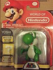 World of Nintendo 4-Inch Super Mario Bros. Yoshi Action Figure - New in stock