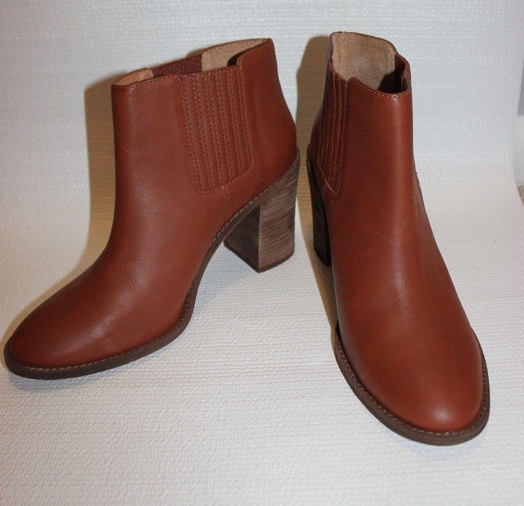Madewell The 11 Ryan Chelsea Stiefel Größe 11 The Dark Chestnut Leder Schuhes 238 #e2331 be5618
