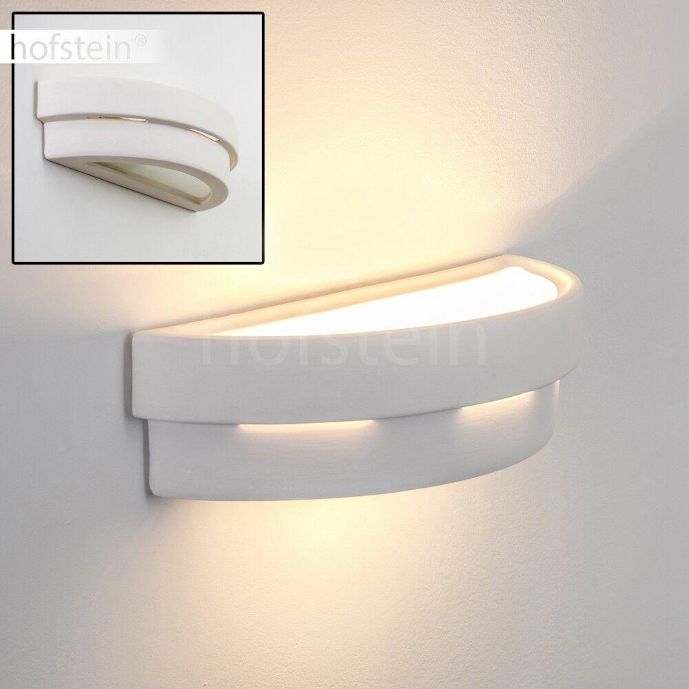 Bemalbare Wandleuchte Design Strahler Flur Wohn Schlaf Ess Zimmer Lampe Keramik