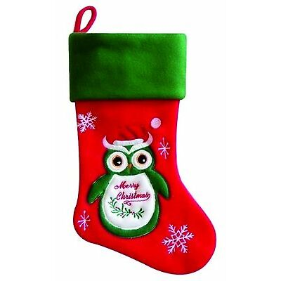 PERSONALISED CHRISTMAS STOCKING High Quality Deluxe Xmas Stockings ADD YOUR NAME