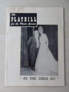 June-1949-Winter-Garden-Theatre-Playbill-As-The-Girls-Go-Bobby-Clark