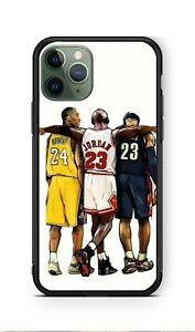 Tratado por no mencionar Rama  Kobe Bryant x Michael Jordan x Lebron James for iPhone Hard Case | eBay