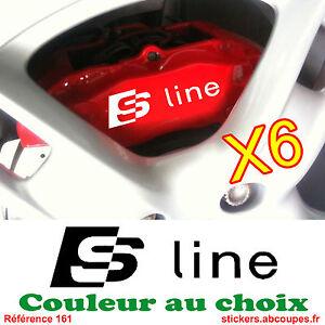 Details Zu 6 Aufkleber Sline Für Sattel Bremse Aufkleber Für Audi S Line 161