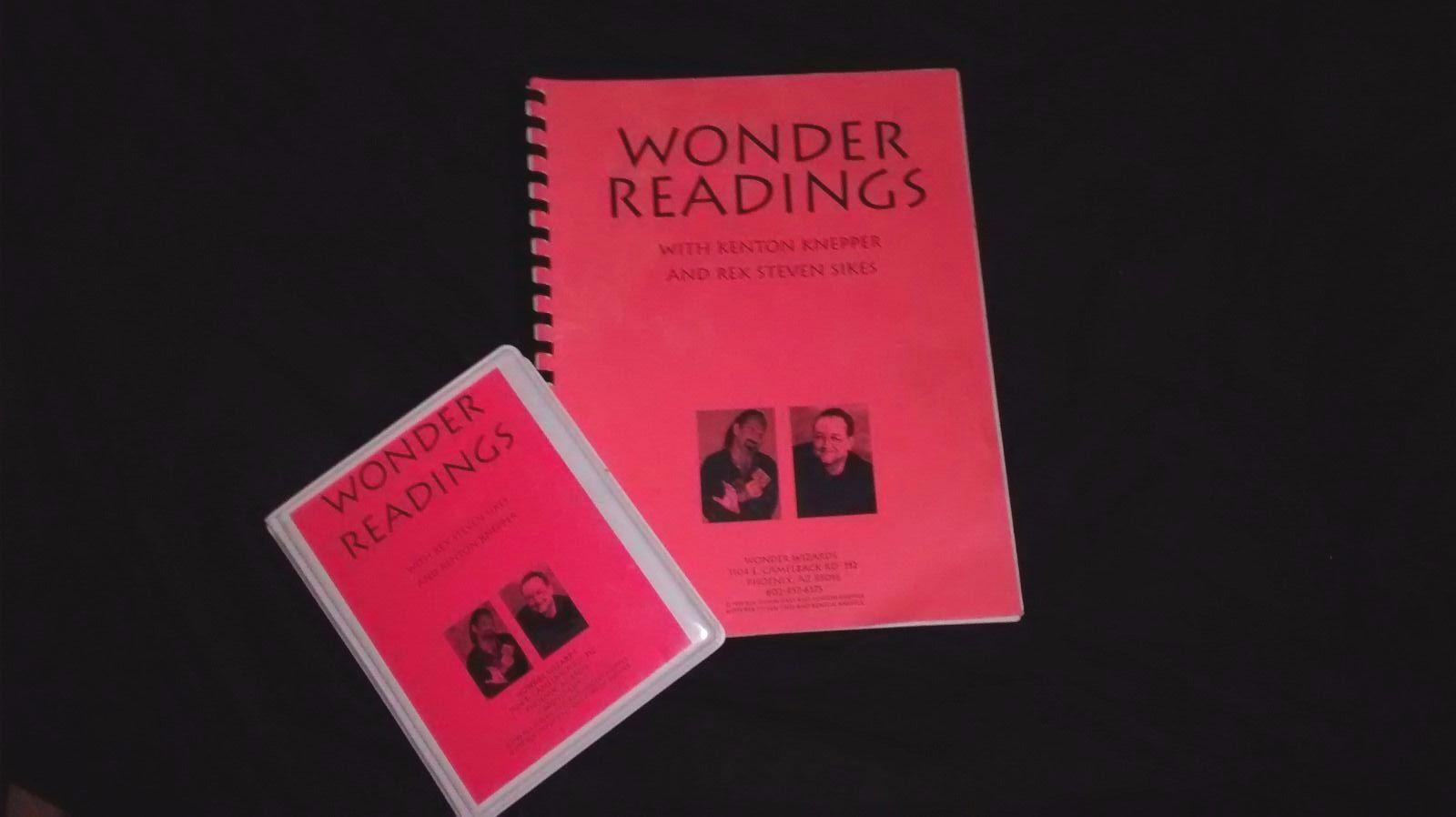 Wonder Readings by Kenton Knepper NLP, cold reading mentalism Derren Brown