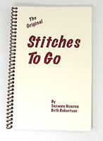 stitches To Go Guide To Stitches Book By Suzanne Howren & Beth Robertson 64pg