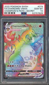 52757629 - Charizard - 2020 Pokemon VMAX Champions Path Shiny Fates PSA 10