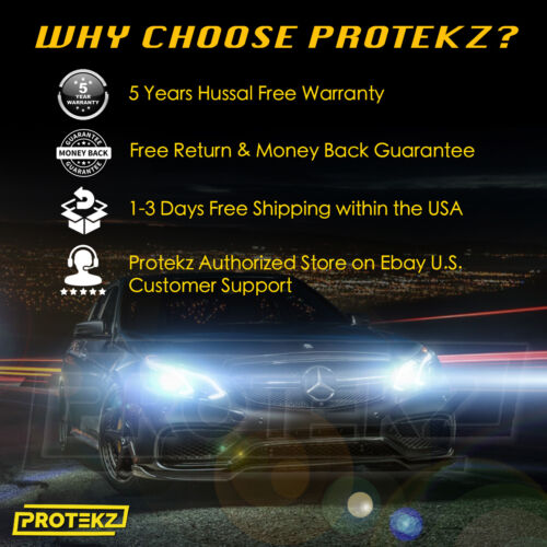Protekz LED Headlight Kit 9003 H4 6K High Low for 2001-2005 SUZUKI GRAND VITARA
