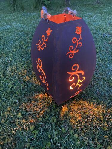 Edelrost  Laterne  Windlicht Tarasse Beleuchtung Deko  Gartendekoration rost