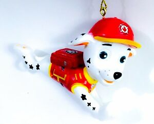 Paw Patrol Christmas Ornament.Details About Paw Patrol Dalmatian Marshall Fire Fighter Dog Sculpt Christmas Ornament Puppy