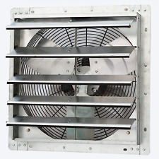 Iliving 18 Wall Mounted Exhaust Fan Automatic Shutter Variable Speed Ve