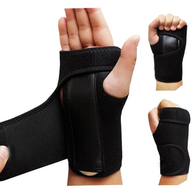Wrist Support Palm Splint Carpal Tunnel Syndrome Bandage Orthopedic Brace Hot AU
