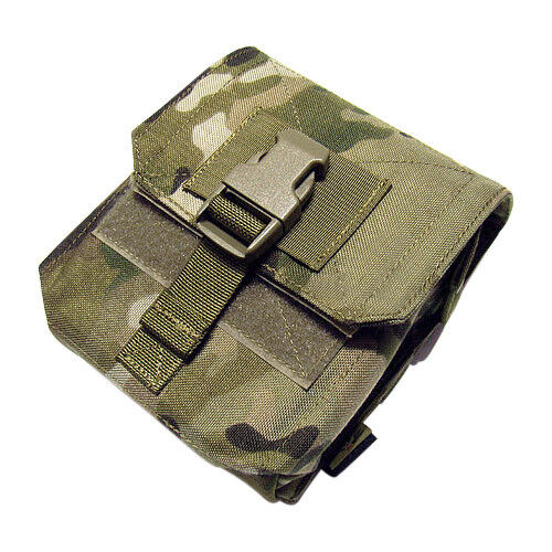 Flyye M60 Tactique 100Rds Ammo Magazine Poche Molle Sangle Camo Multicam Affaire