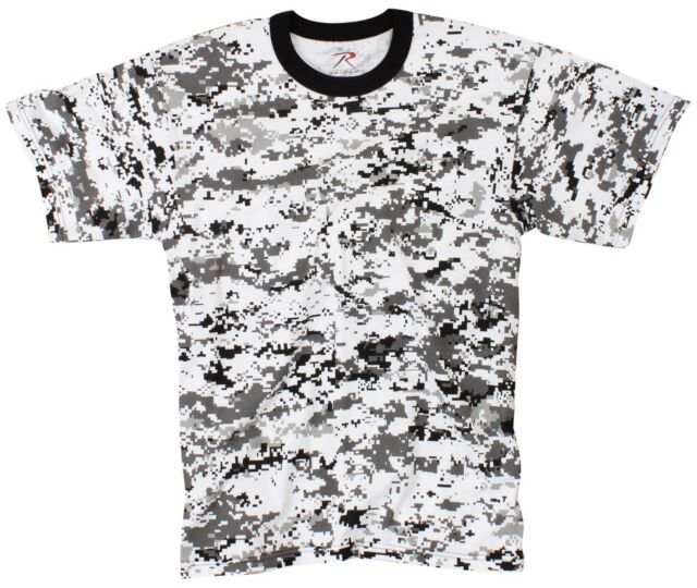 Digital City Camo Tagless T-Shirt -  S - 3XL