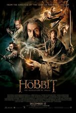 The Hobbit The Desolation Of Smaug DOUBLE SIDED ORIGINAL MOVIE Film POSTER Final