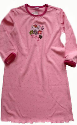 Schiesser Nachthemd Lang Polly Gr.92,98,104 Neu