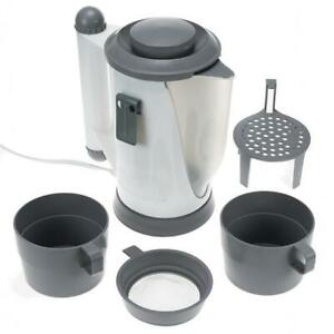 Plug In 12V Car Kettle Set Van Mpv Mini Cab Tea Coffee Maker Electric Heater 5081946712955