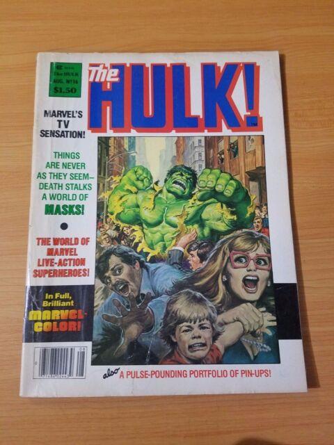Rampaging Hulk #16 ~ FINE - VERY FINE VF ~ (1979, Marvel Comics) Magazine