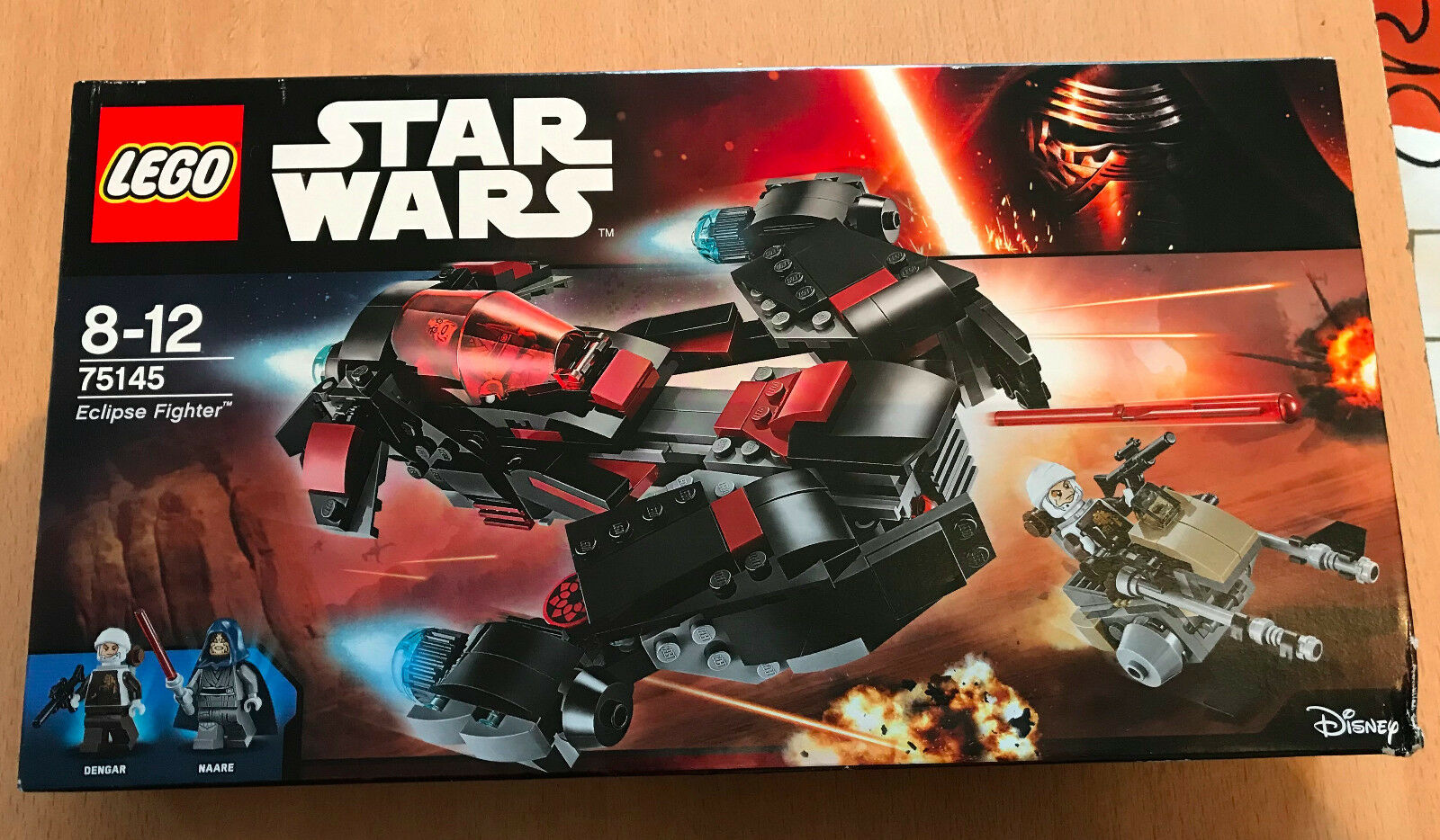 LEGO SET BOITE NEUF STAR WARS VAISSEAU 75145 ECLIPSE FIGHTER AVEC DENGAR