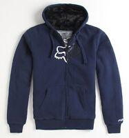 Fox Sasquatch Nothing 2 It Mens Blue Hoodie Sweatshirt Jacket