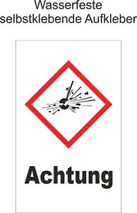 Hinweiss-GHS-Achtung-Explosiv-Aufkleber-Warnaufkleber-Gefahr-ab-1-5-20cm-GHS01