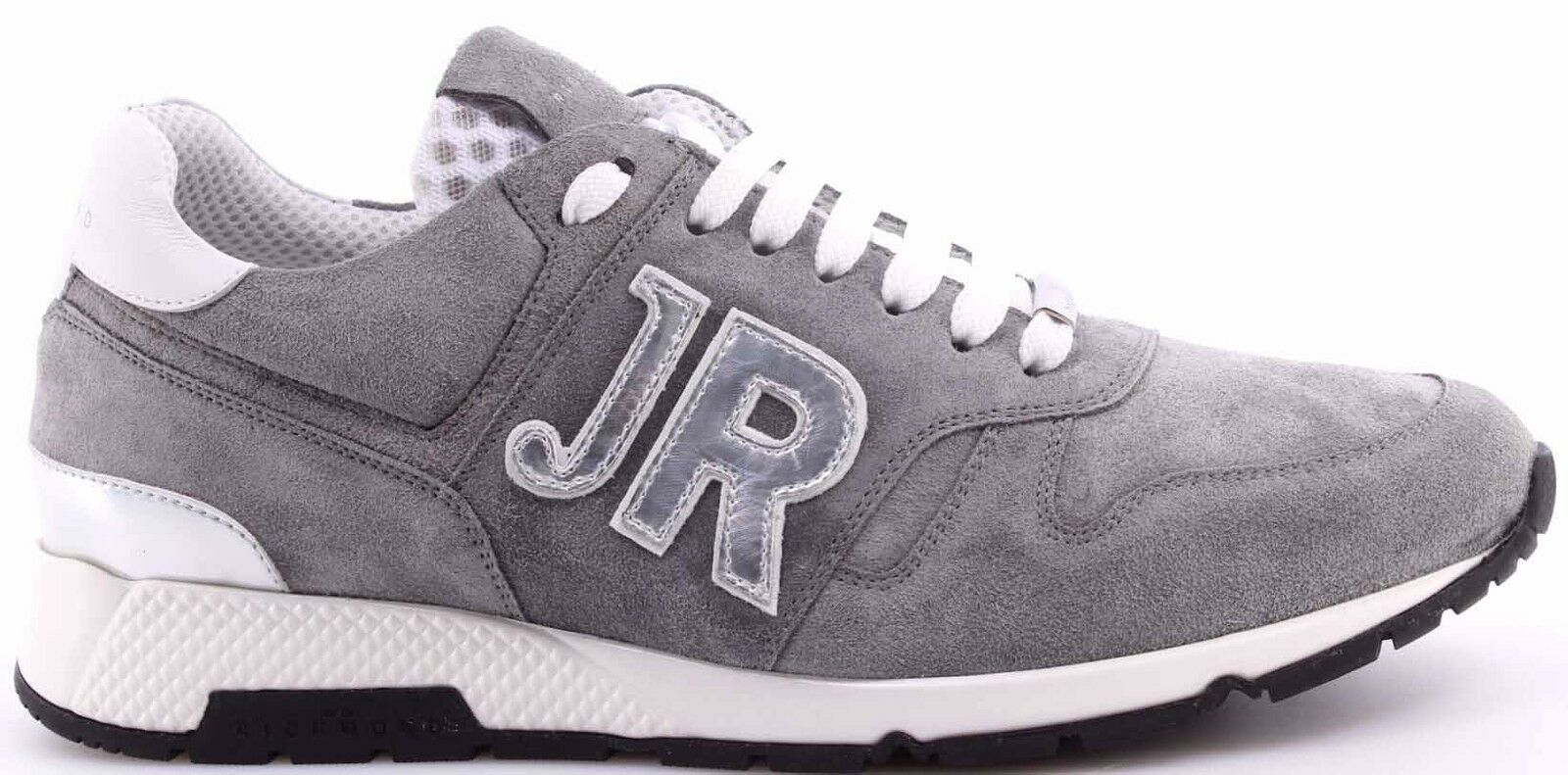 Herren Turnschuhe Schuhe JOHN RICHMOND JR 5505 Variante N Velour grau Grau Neu
