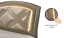 thumbnail 6 - NEW Modern LED Queen King 4PC Champagne Gold Bedroom Set Glam Furniture B/D/M/N